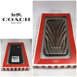 NWT Coach iPhone 5 Phone Case